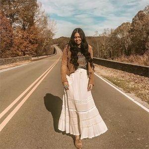 KJANSY Skirts - Marty White Bohemian Skirt
